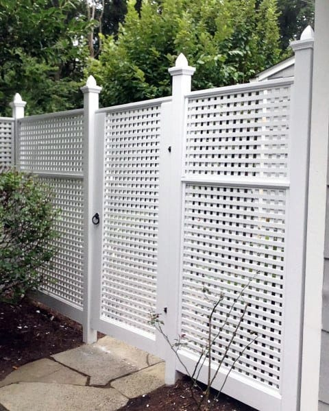 Decorate Backyard Fence