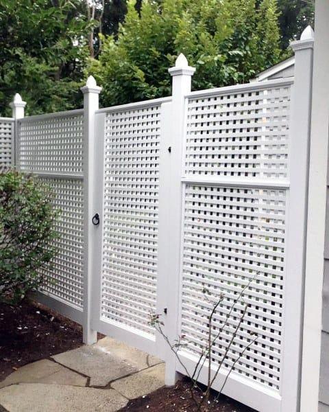Decorate Backyard Fence