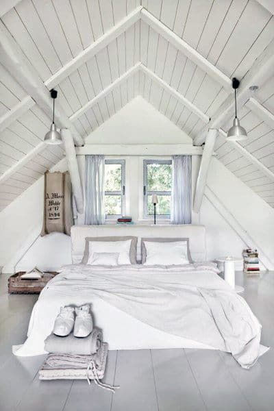 48 Cool Attic Bedroom Ideas Ascended Sleeping Quarters Beauteous Ideas For Attic Bedrooms