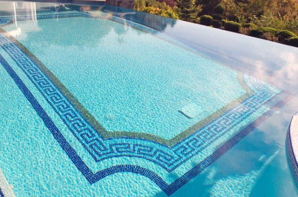 Decorative Border Swimming Pool Tiles