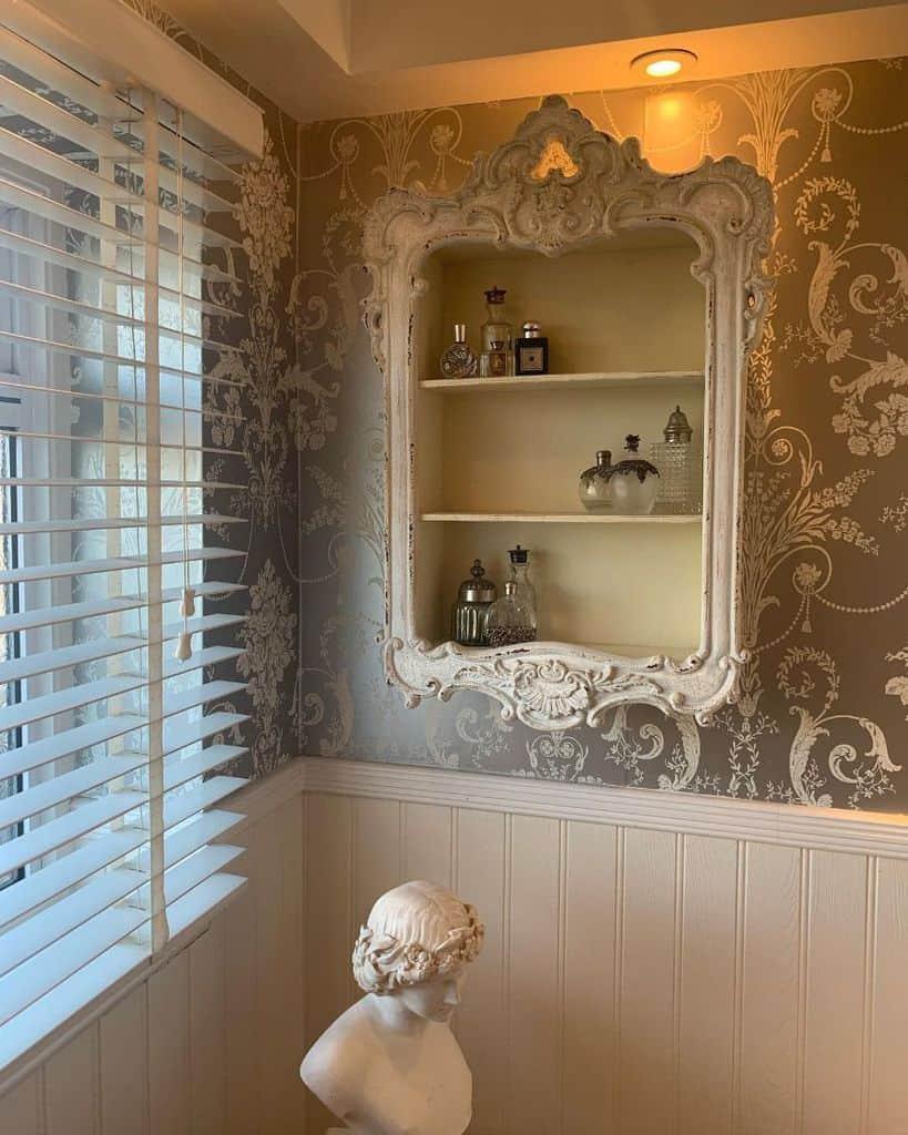 Decorative Shelves And Storage Bathroom Decor Ideas Zarajaneinteriors