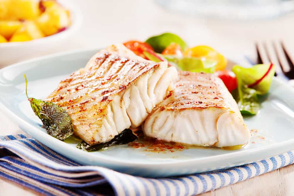 delicious fillets of pollock or coalfish cooked in a spicy marinade