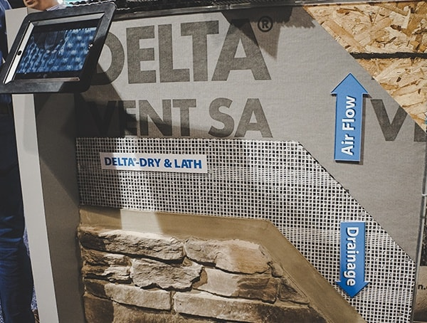 Delta Vent Sa With Dry And Lath Nahb 2019 Show Booth Display
