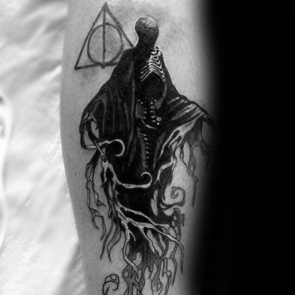 Dementor Male Tattoos