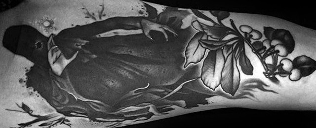 Dementor Tattoo Designs For Men