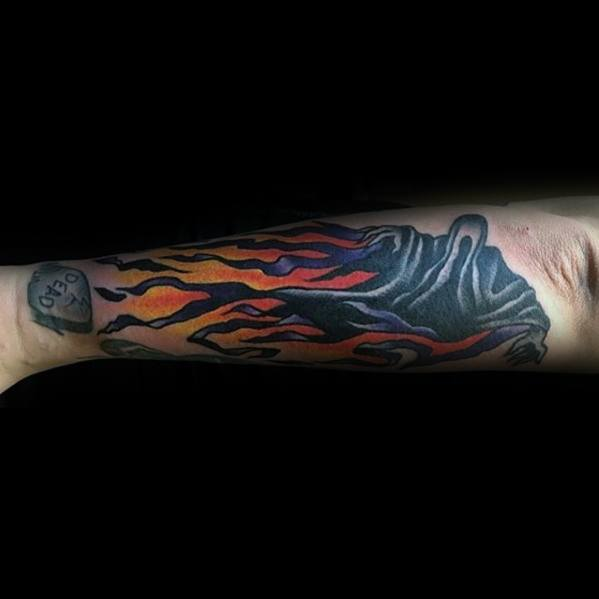 Dementor Tattoos For Gentlemen