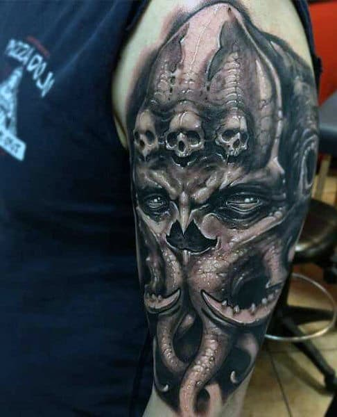 101+ Demon Tattoo Designs & Ideas With Meanings |Evil Devil Tattoos
