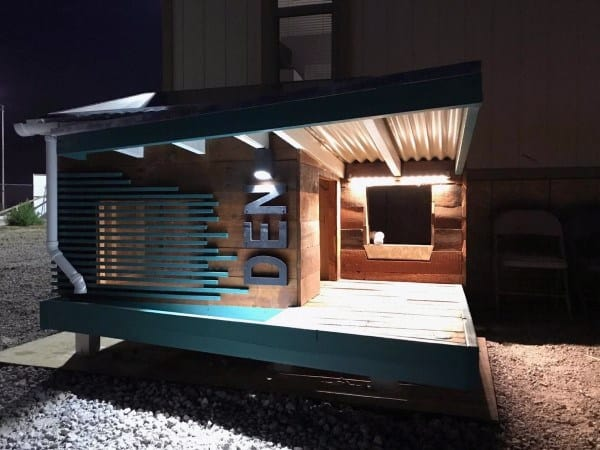 Den Modern Dog House Ideas