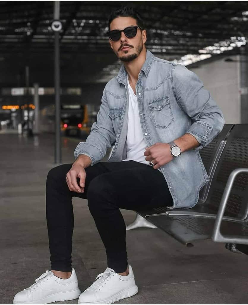 Denim Fashion Mens Style