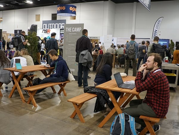 Denver Colorado Outdoor Retailer Winter Market 2018 The Camp