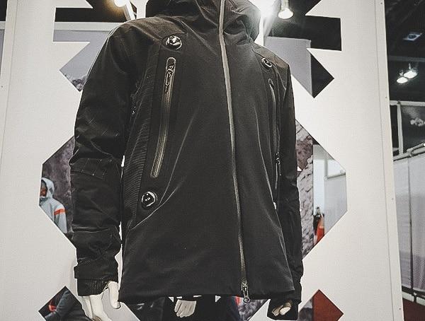 Descente Four Boa Adjustment Mens Ski Jacket Innovation