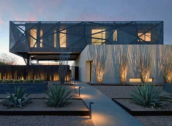 Desert Plants Modern Landscape Design