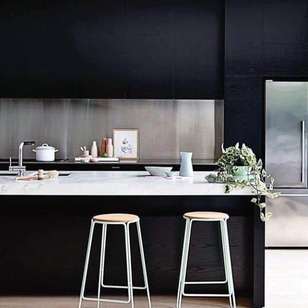 Design Ideas Black Kitchen Cabinet