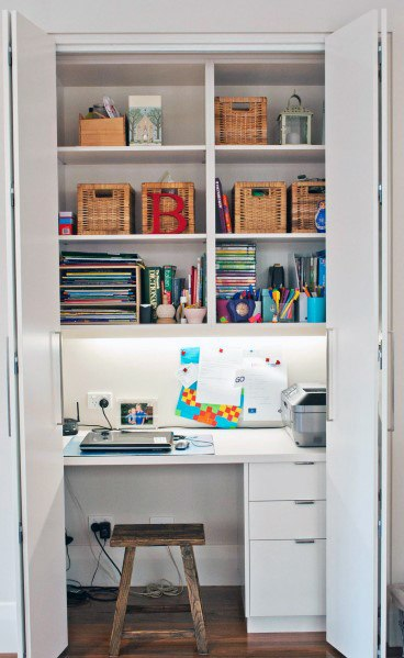 Design Ideas Closet Office