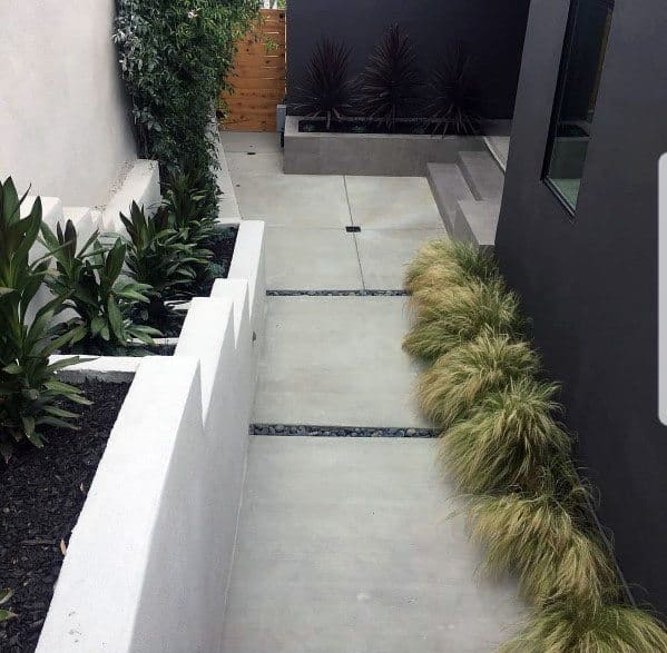 Design Ideas Concrete Walkway Contemporary Look