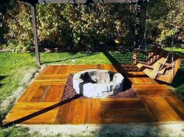 Design Ideas Deck Fire Pit