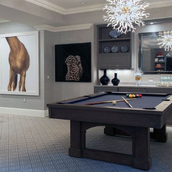 Design Ideas Finished Basement Contemporary
