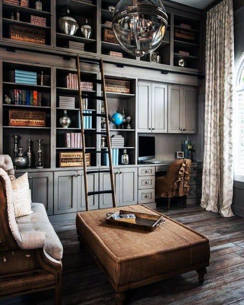 Design Ideas Floor To Ceiling Bookshelves