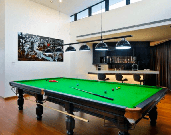 Design Ideas For Billiards Room