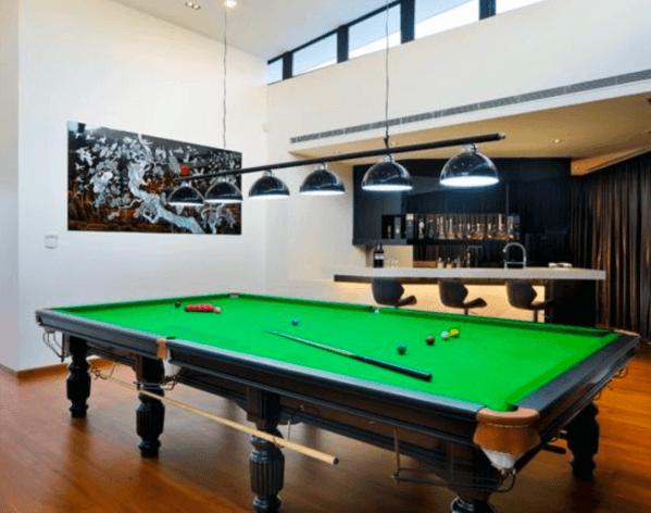 Design Ideas For Billiards Room
