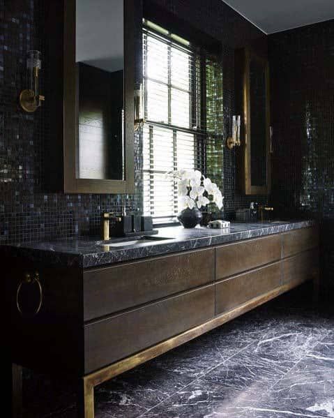 Design Ideas For Black Bathroom