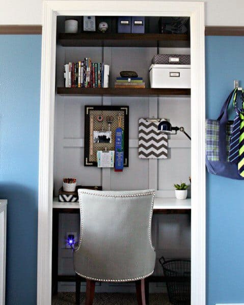 Design Ideas For Closet Office