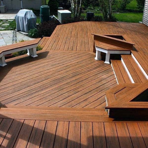 Design Ideas For Deck Bench