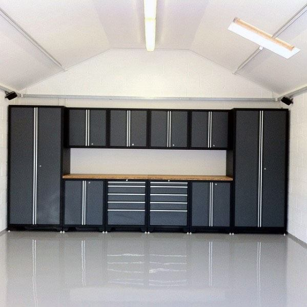 Top 70 Best Garage Cabinet Ideas