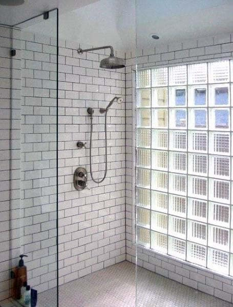 Design Ideas For Glass Block Shower