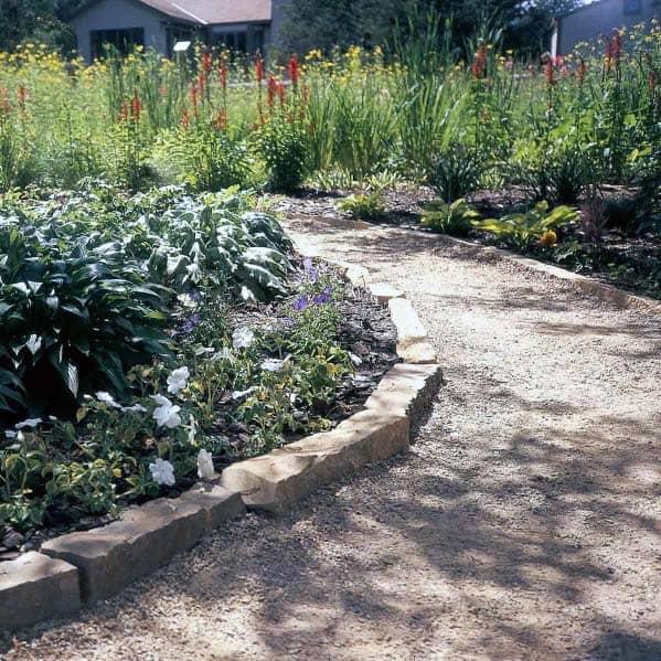 Design Ideas For Gravel Landscaping Walkway
