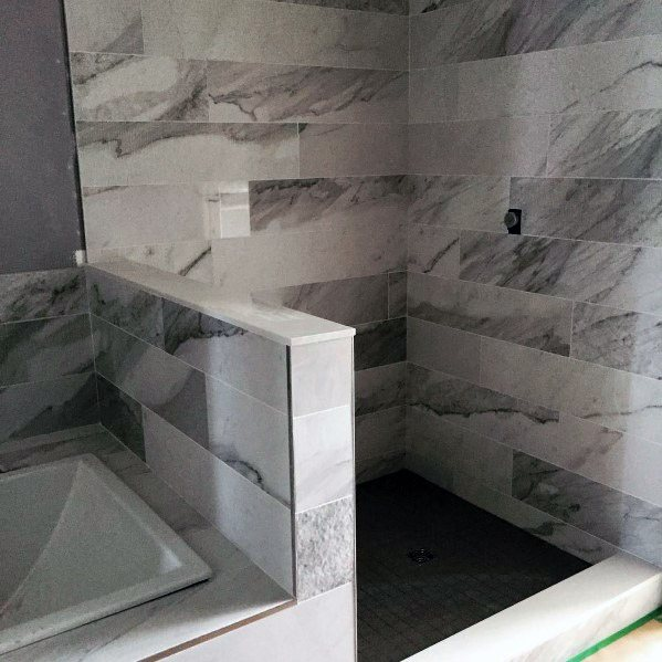 Design Ideas For Grey Bathroom Tile