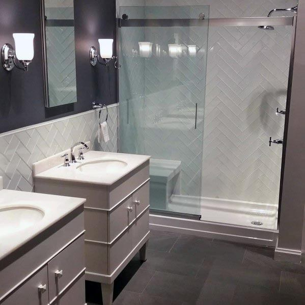 Design Ideas For Grey Bathroom