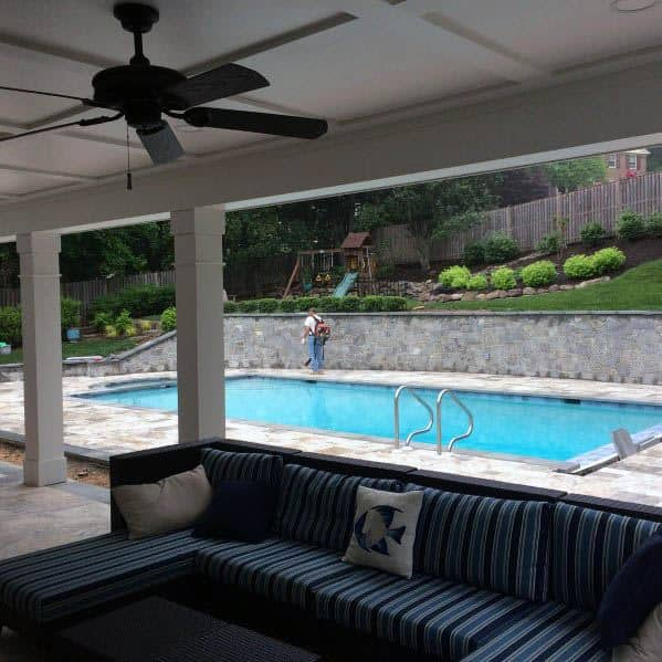 Design Ideas For Patio Ceiling Painted White