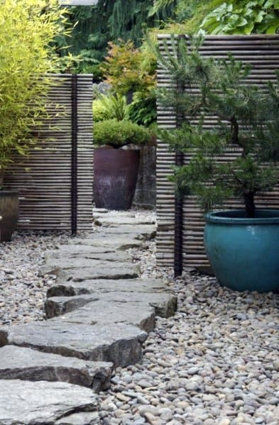 Design Ideas For Stone Walkway Gravel Landscaping