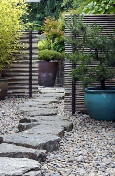 Design Ideas For Stone Walkway Gravel Landscaping
