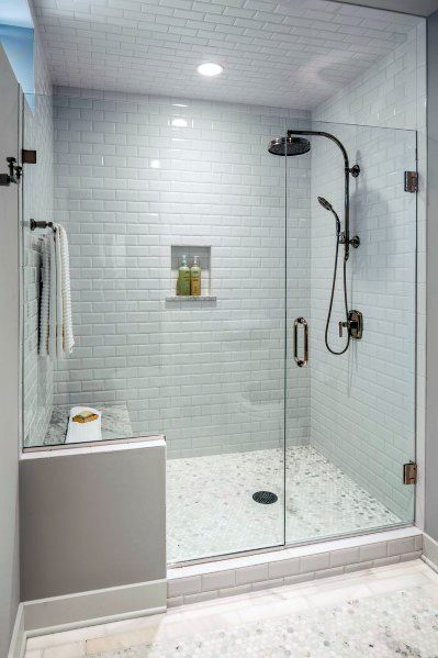 Design Ideas For Subway Tile Walk In Glass Shower