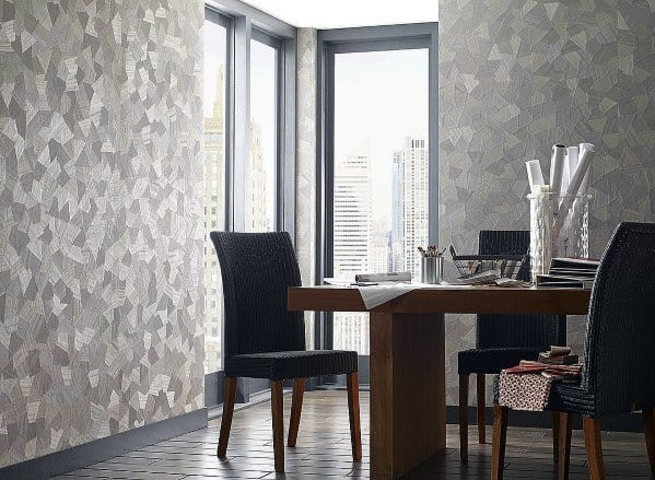 Design Ideas For Textured Wall Dining Room