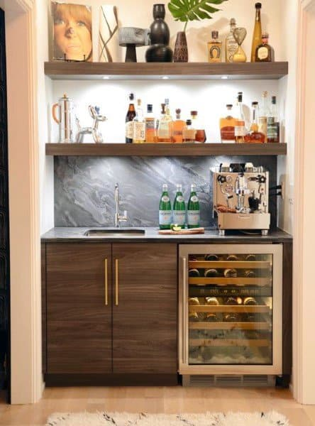 Design Ideas For Wet Bars