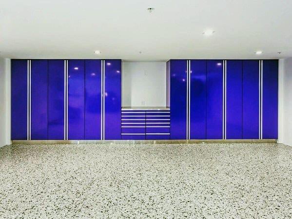 Design Ideas Garage Cabinet Navy Blue