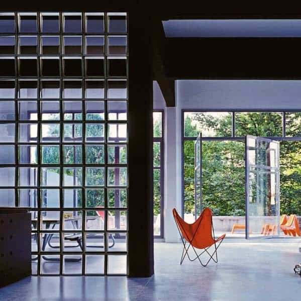 Design Ideas Glass Block Room Divider