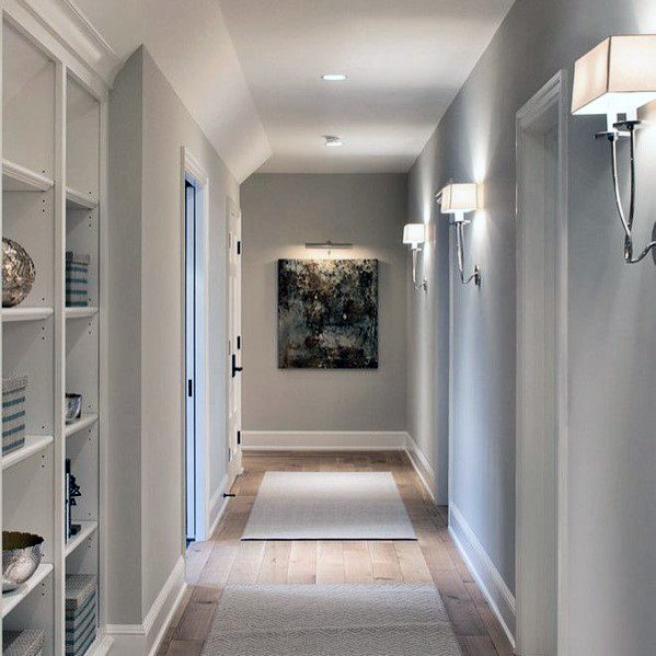 New Home Interior Design Traditional Hallway: Top 60 Best Hallway Lighting Ideas