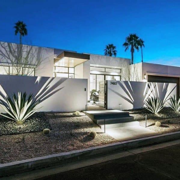 Design Ideas Landscape Lighting Modern Front Yard