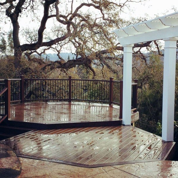 Design Ideas Metal Deck Railing