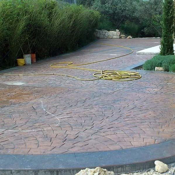 Design Ideas Stamped Concrete Patio