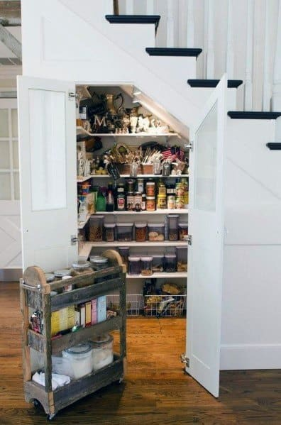Design Ideas Under Stairs Kitchen Pantry Storage