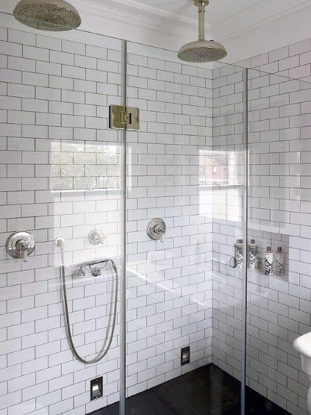 Top 50 Best Subway Tile Shower Ideas