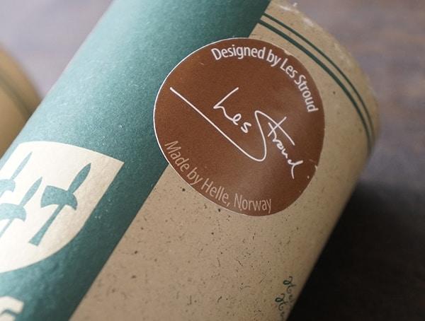 Designed By Les Stroud Helle Utvaer Knife Tube