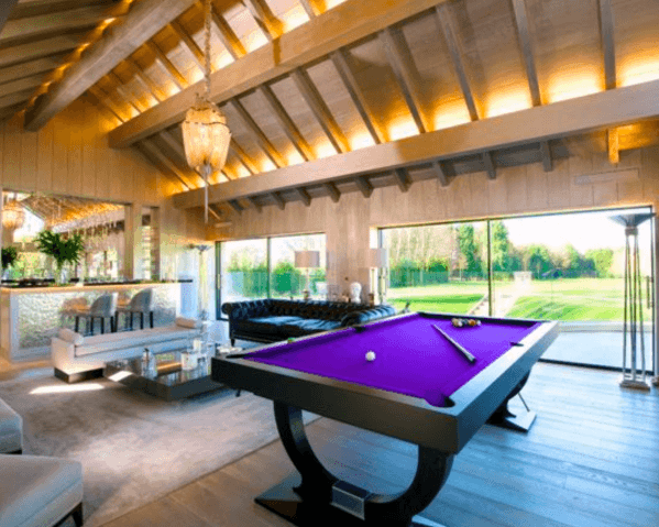 Designs Billiards Room