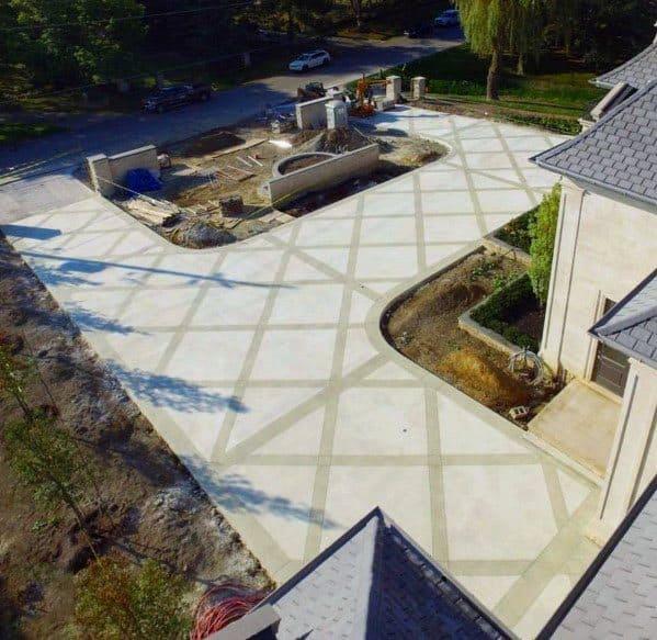 Designs Concrete Driveway
