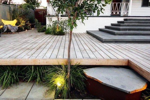 Designs Floating Deck Backyards